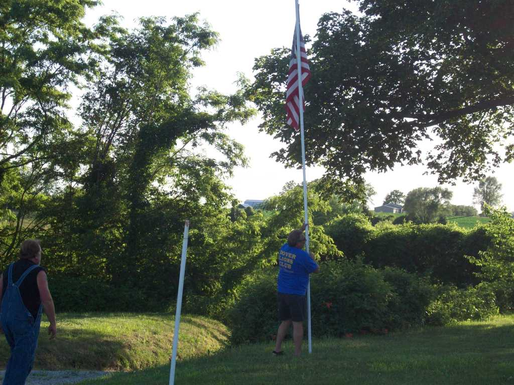 3-Raising the Flag