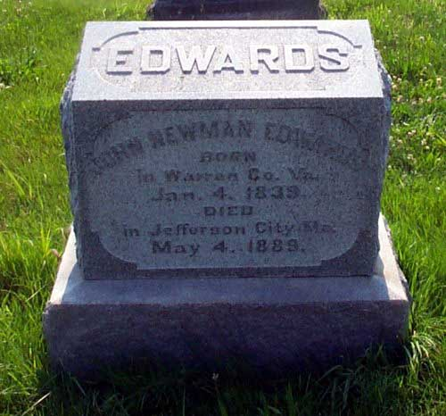 John Edwards Tombstone
